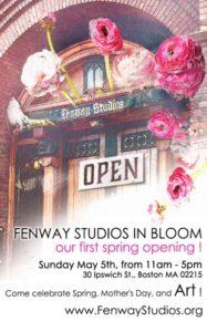 Post for Fenway Studios Open Studios in May 2019