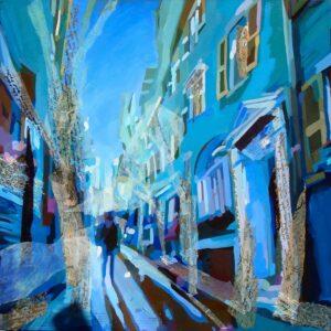 In Boston Blue by Oana Lauric
