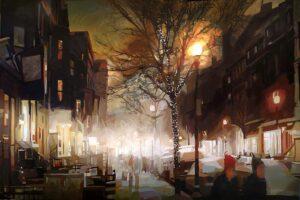 A Winter Tale by Oana Lauric