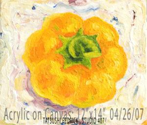 Painting by Tatsushi Fedrick
