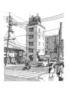 Kawaguchi-shi by Peter Scott