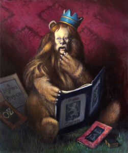 A Lion's Tale by David Lowrey