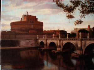 Castel Sant'Angelo by Yoshi Mizutani
