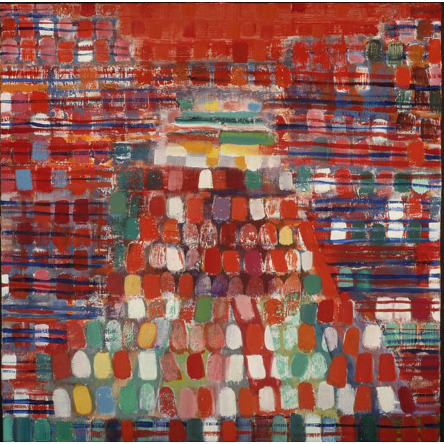 Red Pyramid by Kayla Mohammadi