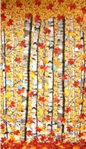 Season Series: Autumn Leaves by Beverly Sky