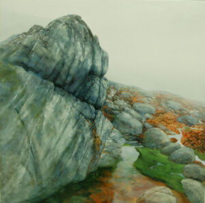 Leaning in the Fog by Teri Malo
