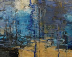 Fire Pond II oil painting by Robert Baart