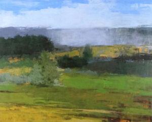 Northfield acrylic painting by Robert Baart