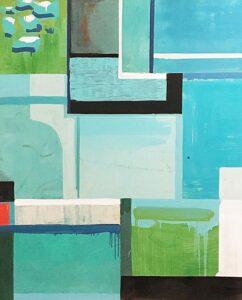 Blue Peonie by Susan Morrison-Dyke