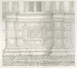 Facade La Chiesa di San Zaccharia by Peter Scott