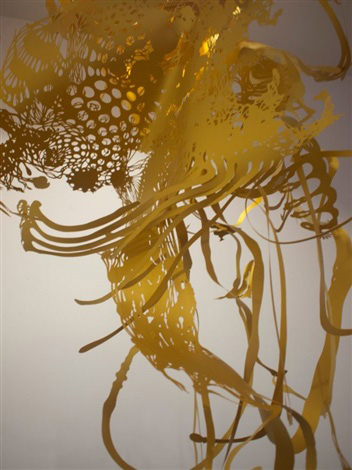Cut Paper Installation by Fred Liang