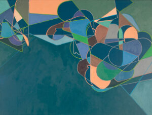 Abstract Painting by Mary Hughes