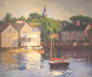 Old North Wharf by Amy Chuckrow